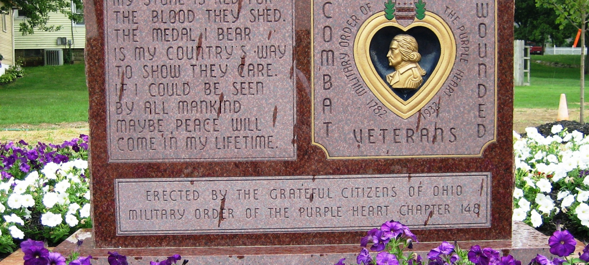 Wounded in Combat Monument
